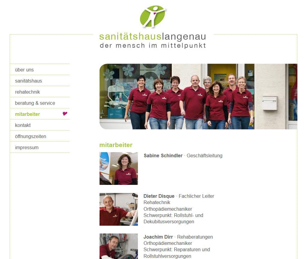 sanitätshaus langenau website