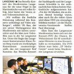 Pressebericht swp/Langenau-aktuell 11.12.2013